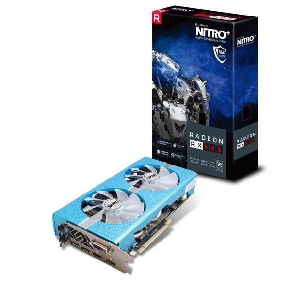 Sapphire Radeon RX580 Nitro+ Special Edition 8GB GDDR5 - 11265-21-20G