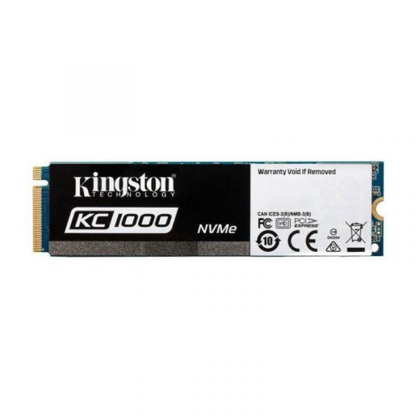 Kingston 480GB KC1000 NVMe M.2 PCIe SSD - SKC1000/480G
