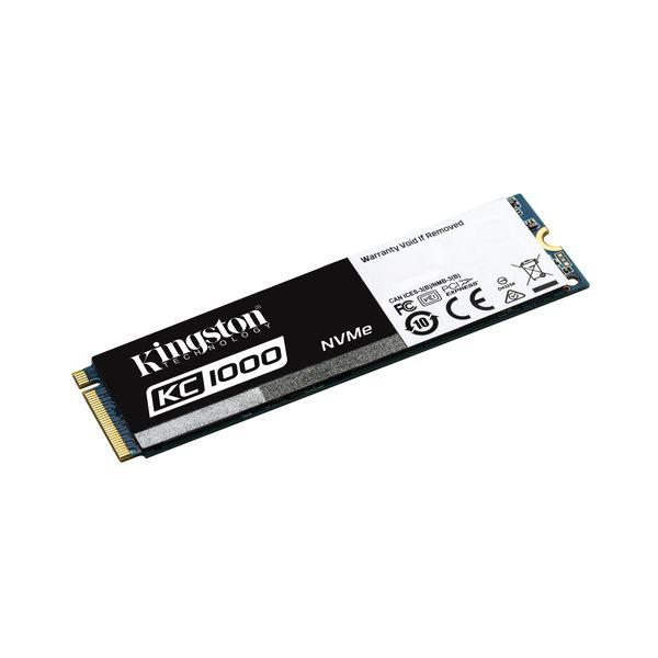 Kingston 240GB KC1000 NVMe M.2 PCIe SSD - SKC1000/240G