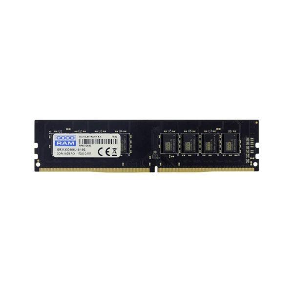 Memória RAM Goodram 8GB DDR4 2133MHz PC4-17000 CL15 - GR2133D464L15S/8G