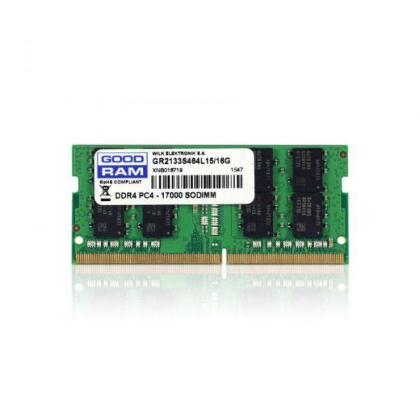 Memória RAM Goodram 4GB DDR4 2133MHz PC4-17000 CL15 - GR2133S464L15S/4G