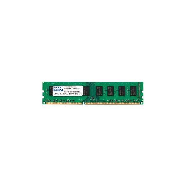 Memória RAM Goodram 2GB 1333MHz PC3-10600 CL9 - GR1333D364L9/2G