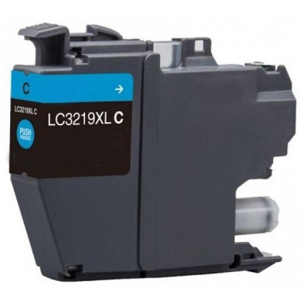 Tinteiro Brother LC3219C XL Cyan Compatível
