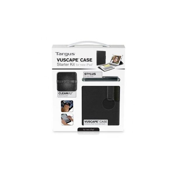 Targus Vuscape Starter Kit for iPad Black - BEU3173-01P