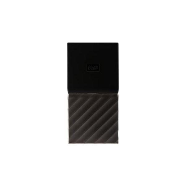Disco Externo SSD Western Digital 256GB My Passport SSD USB 3.1 Gen 2 Black/Silver - WDBK3E2560PSL-WESN