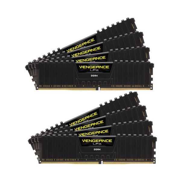 Memória RAM Corsair 128GB Vengeance LPX 8x16GB DDR4 3600MHz PC4-28800 CL18 - CMK128GX4M8X3600C18