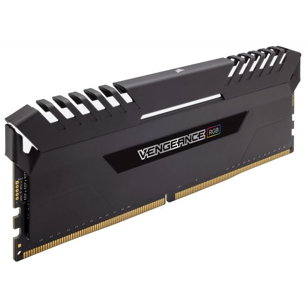Memória RAM Corsair 32GB Vengeance RGB (2x 16GB) DDR4 3200MHz PC4-25600 CL16 - CMR32GX4M2C3200C16