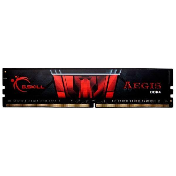 Memória RAM G.Skill 8GB Aegis DDR4 2400MHz PC4-19200 CL17 - F4-2400C17S-8GIS