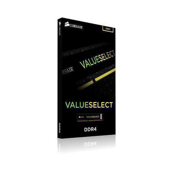 Memória RAM Corsair 4GB Value Select DDR4 2400MHz PC4-19200 CL16 - CMV4GX4M1A2400C16