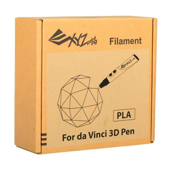 XYZPrinting Caja de Filamento PLA 1.75mm para Lápiz 3D Da Vinci
