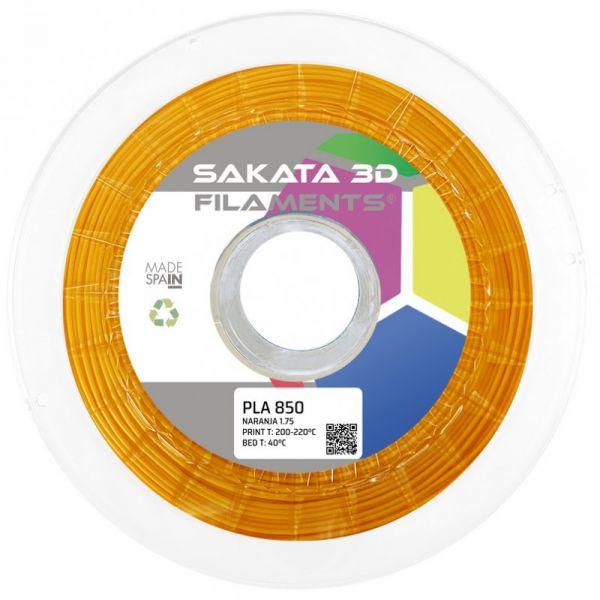 Filamento PLA 3D850 1.75mm Orange 1Kg
