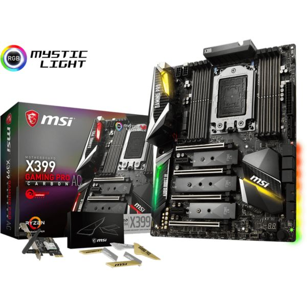 Motherboard MSI X399 Gaming Pro Carbon AC - 911-7B09-002