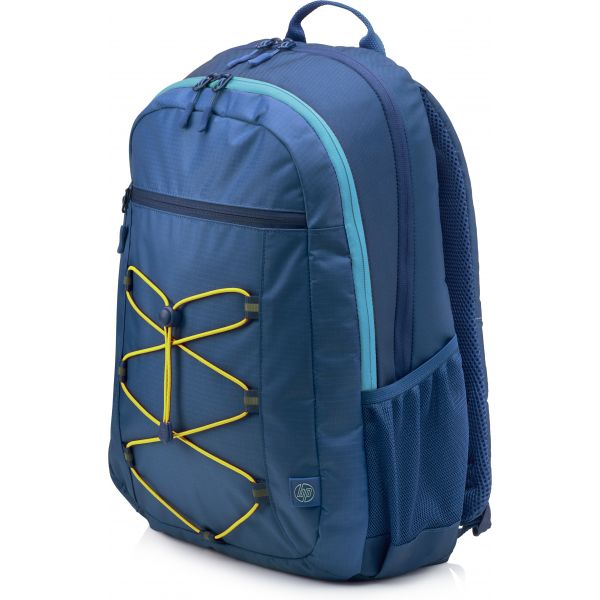 "HP 15.6"" Backpack Active Blue/Yellow - 1LU24AA"
