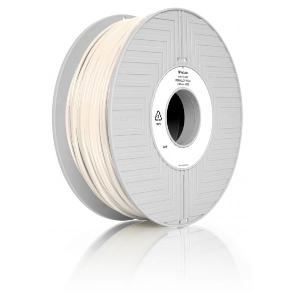 Verbatim 3D Printer Filament Primalloy 2,85 mm 500g Branco - 55501