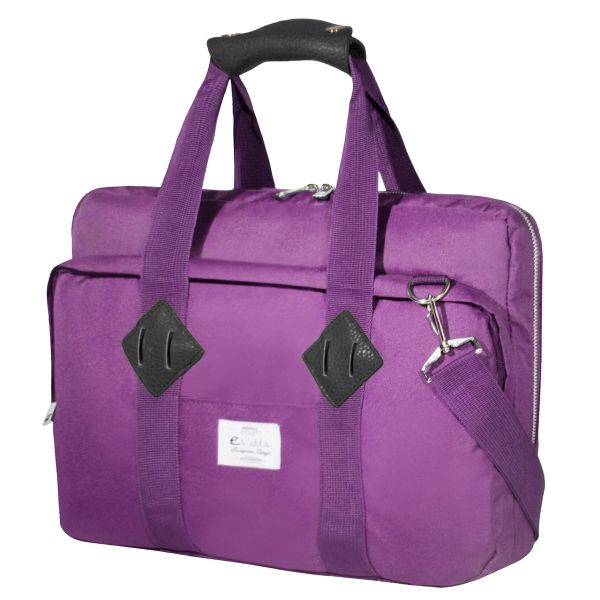 E-Vitta Mala 16'' Messenger Purple - EVLB000462