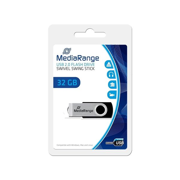 Mediarange 32GB Pendrive USB 2.0 - MR911