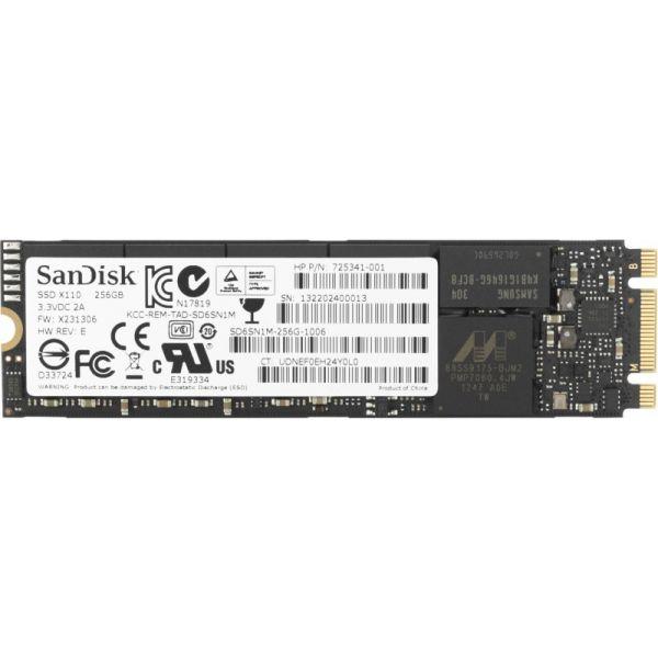 HP 256GB Turbo Drive Gen2 M.2 SSD - 1CA51AA