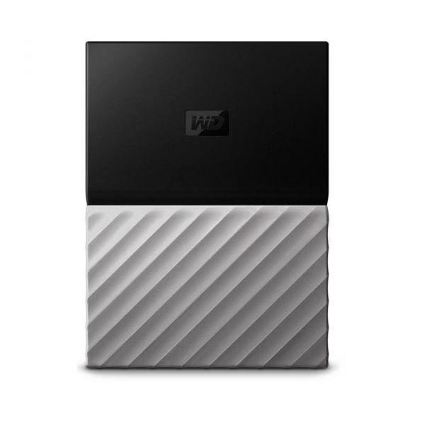 Disco Externo Western Digital 2TB My Passport Ultra USB 3.0 Black/Grey - WDBFKT0020BGY-WESN