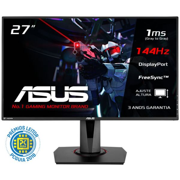 "Monitor Asus 27"" Gamer VG278Q 144Hz FHD"