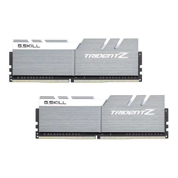 Memória RAM G.Skill 16GB Trident Z (2x 8GB) DDR4 3866MHz PC4-30900 CL18 Silver/White - F4-3866C18D-16GTZSW