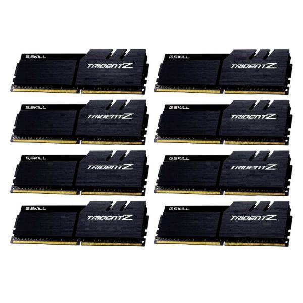 Memória RAM G.Skill 64GB Trident Z 8x8GB DDR4 4000MHz PC4-32000 CL19 - F4-4000C18Q2-64GTZKK