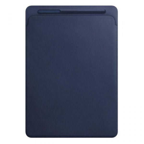 "Apple Leather Sleeve iPad Pro 12.9"" Midnight Blue - MQ0T2ZM/A"