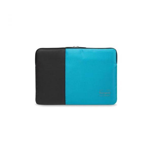 "Targus Pulse 13~14"" Laptop Sleeve Black/Atoll Blue - TSS94802EU"