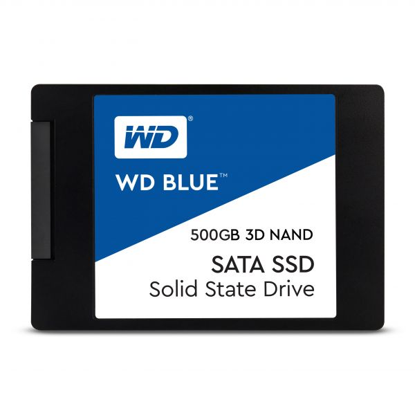 "Disco SSD Western Digital 500GB SSD Blue 2.5"" 7mm SATA III 6Gb s - WDS500G2B0A"