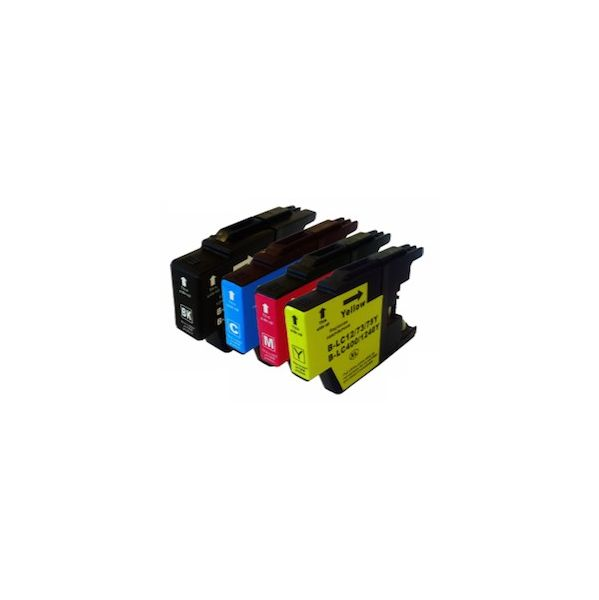 Pack 4 Tinteiros Brother LC1240XL CMYK Compatível