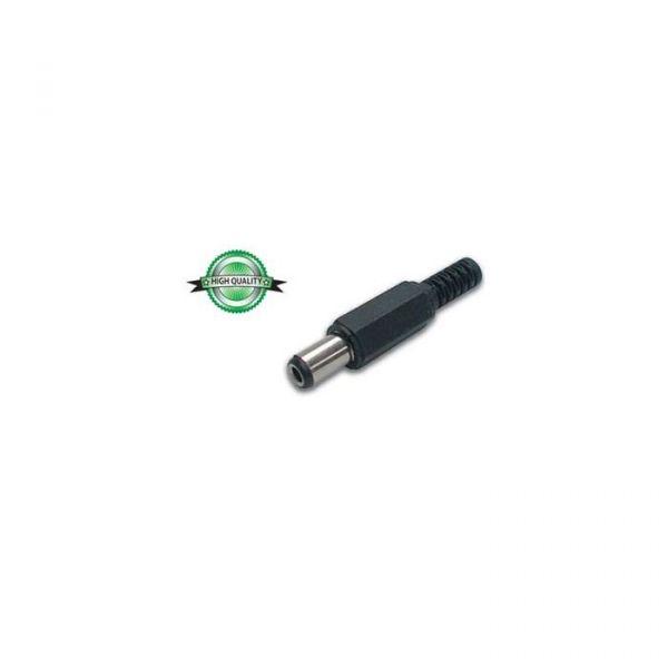 Velleman Ficha de Alimentação DC 2.5x5.5x9mm Plástico 10un - VELCD010H