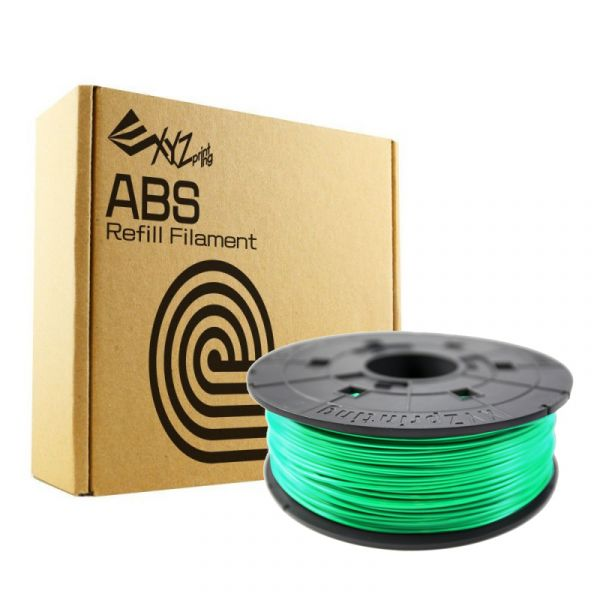 XYZprinting Filamento ABS 1.75mm 600g Green - RF10XXEUZWK