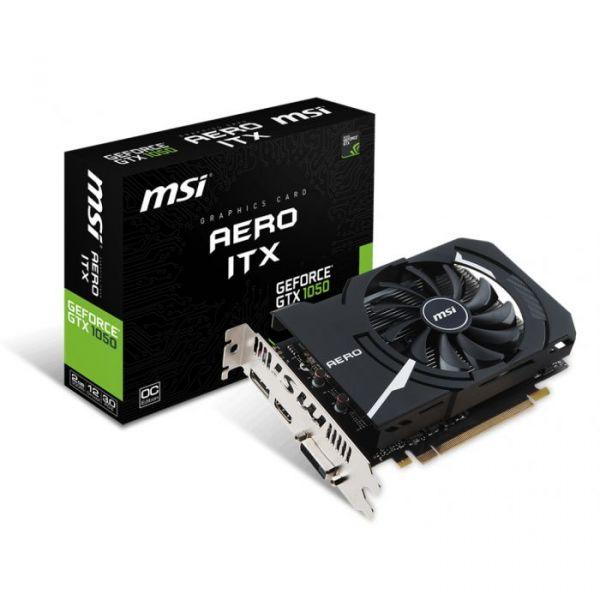 MSI GeForce GTX1050 AERO ITX 2GB OCV1 GDDR5 - 912-V809-2484