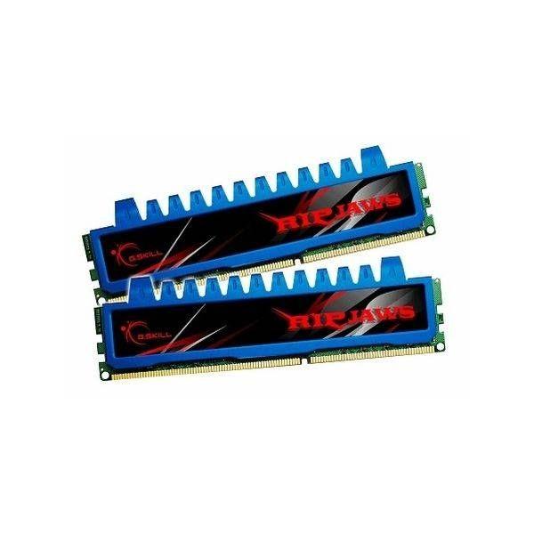 Memória RAM G.Skill 4GB Ripjaws 2x 2GB DDR3 1333mhZ PC3-16000 CL9 - F3-16000CL9-4GBRHD
