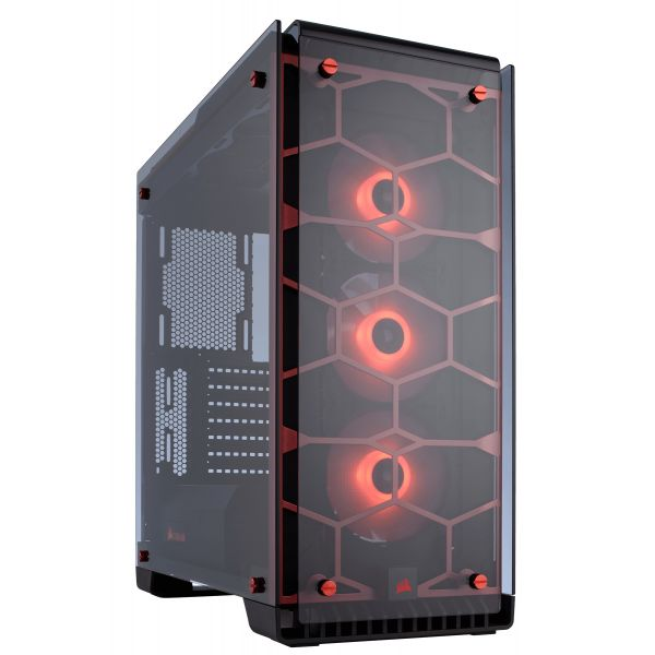Corsair Crystal 570X RGB Red - CC-9011111-WW