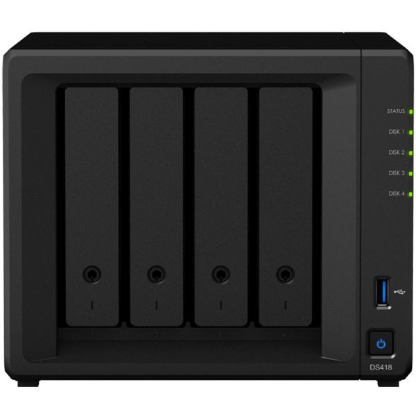 Synology DiskStation DS418 4 Baías - 15-130006670