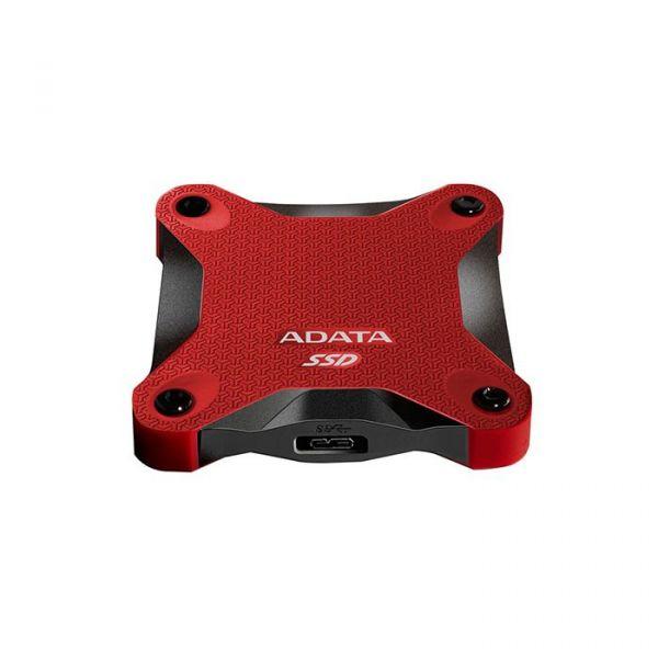 Disco Externo SSD ADATA 512GB SD600 SSD USB 3.0 Red - ASD600-512GU31-CRD