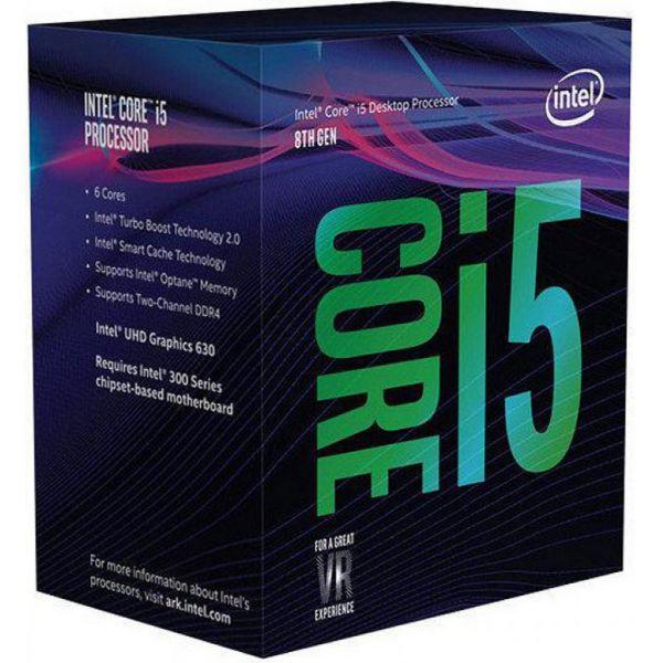 Intel Core i5-8600K 3.6GHz 9MB Skt1151 - BX80684I58600K
