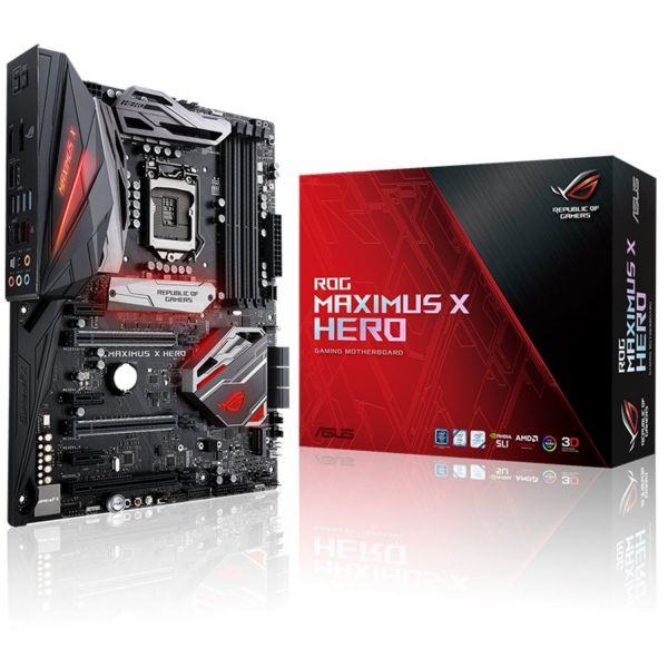 Motherboard Asus ROG Maximus X Hero - 90MB0V30-M0EAY0