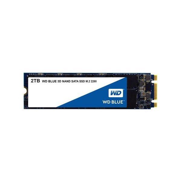 Western Digital 2TB Blue SATA III M.2 2280 SSD - WDS200T2B0B