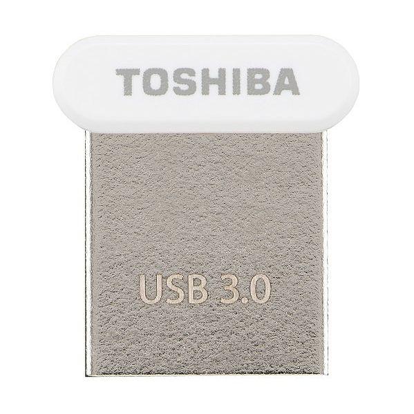 Toshiba 64GB TransMemory U364 Nano USB 3.0 White - THN-U364W0640E4