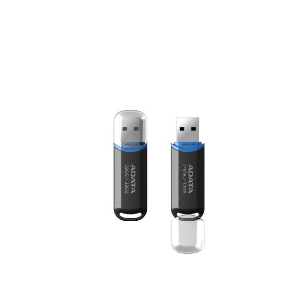 ADATA 32GB C906 Compact USB 2.0 Black - AC906-32G-RBK