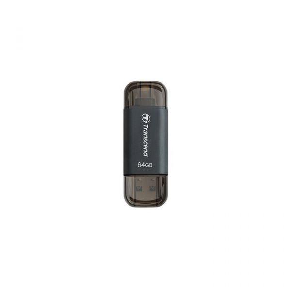 Transcend 64GB JetDrive Go 300K Gen1 OTG Lightning + USB 3.1 Black - TS64GJDG300K
