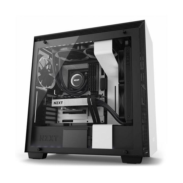 NZXT H700i White/Black - CA-H700W-WB