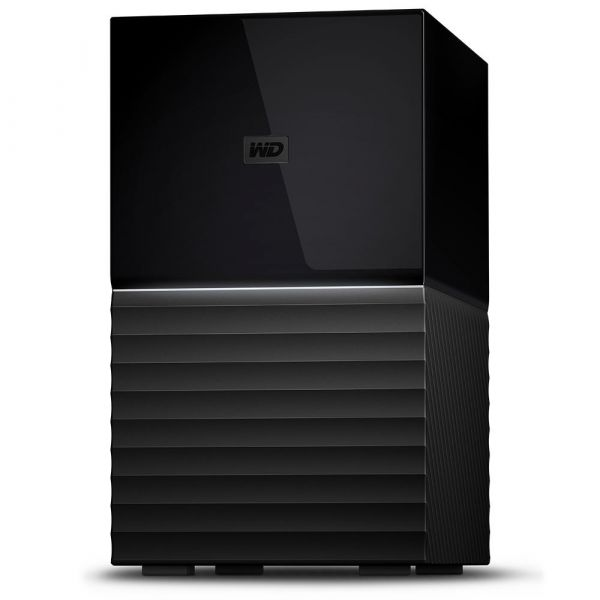 Disco Externo Western Digital 6TB My Book Duo USB 3.1 - WDBFBE0060JBK-EESN