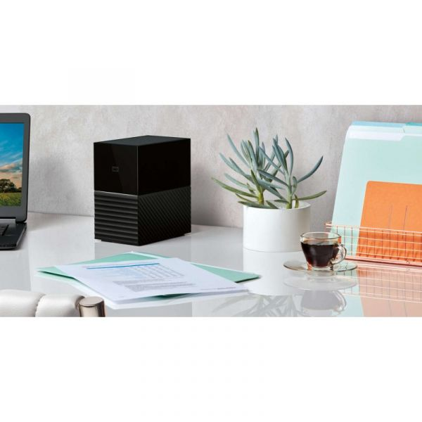 Disco Externo Western Digital 4TB My Book Duo USB 3.1 - WDBFBE0040JBK-EESN