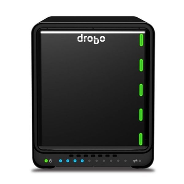 Drobo 5Dt (Turbo) 5 baias HDD/SSD SATA 2 Thunderbolt2 - DRDR5A31-T