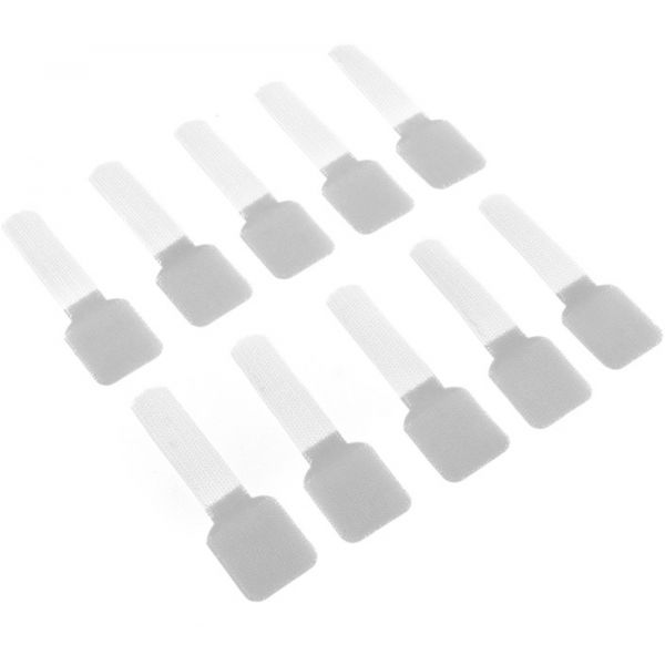 Label the Cable Abraçadeiras de Parede White (Pack 10) - LTC3120