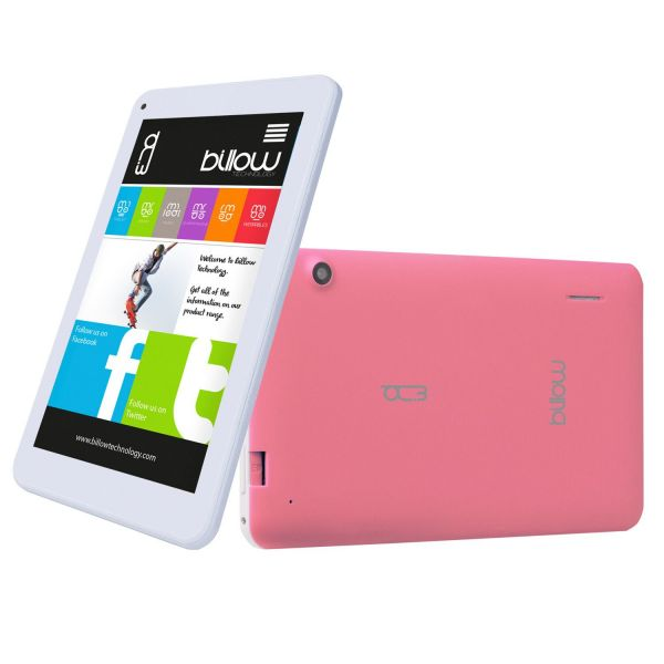 """Tablet Billow X701PV2 7"""" 8GB Rubber Pink"""