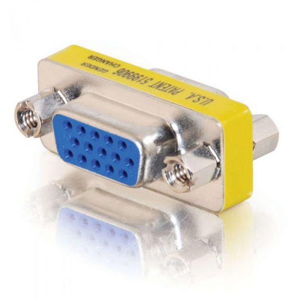 C2G Comutador de género de VGA HD-15 (F) HD-15 (F) - 81529