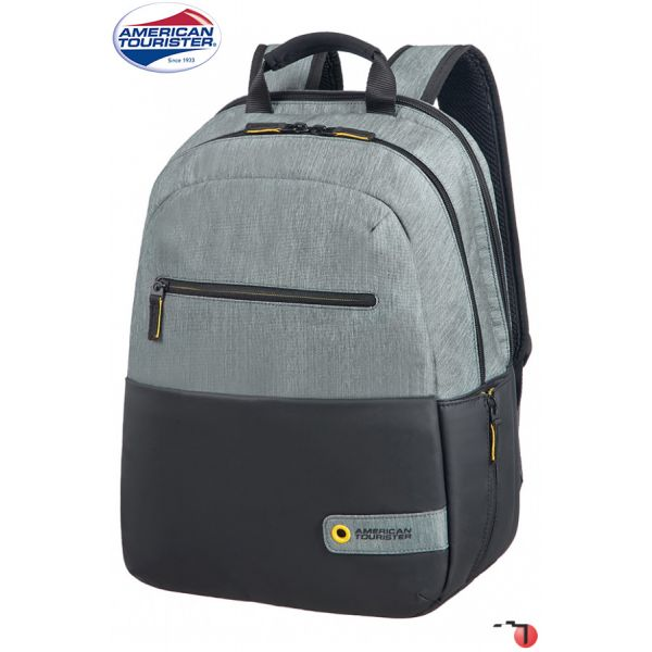 American Tourister Mochila Laptop 13.3-14.1'' City Drift Black/Grey - 28G00109